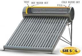 Fabricacion de calentadores solares